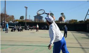 駅前不動産杯 シニアテニス大会