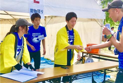 筑後川マラソンボランティア