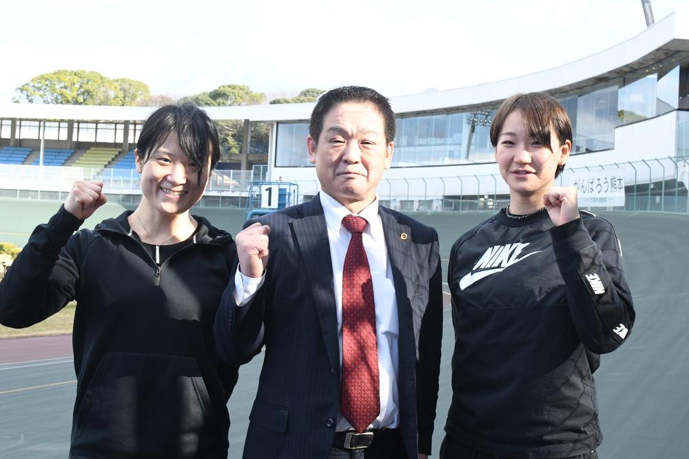 久留米競輪「ガールズケイリンコレクショントライアル」に協賛致しました