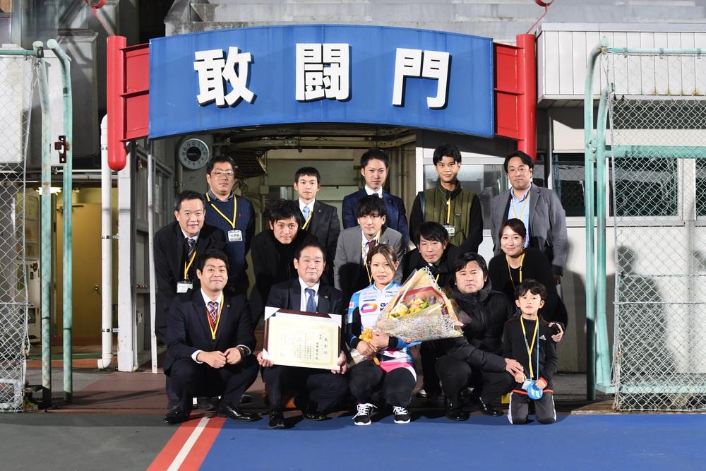 ガールズケイリンコレクショントライアル駅前不動産カップ優勝は石井寛子選手!