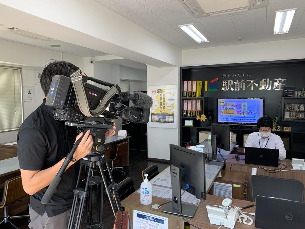 TV放送のお知らせ<NHK福岡「ロクいち!福岡」>