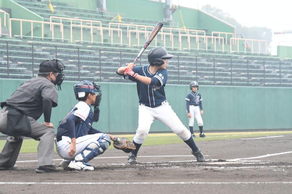 駅前不動産旗 第3回久留米近圏秋季学童軟式野球大会が始まりました